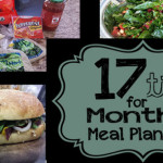 17 Tips for Monthly Meal Planning