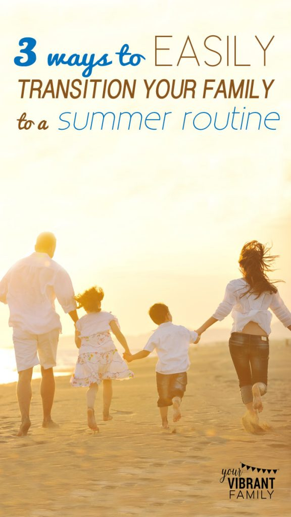 Transitioning out of the homeschool year into summer doesn't have to be stressful. Here's how to make it an flexible, natural flow! Don't miss these tips to get your family's summer off on the right foot!