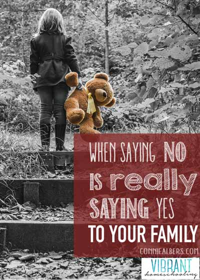 """To Everything A Season: Why Saying No Is Really Saying Yes to Your Family"" 