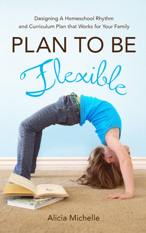 Learn more about the Plan to Be Flexible book: Homeschool planning can be one of the most daunting parts of teaching our kids. How can this resource help create a successful homeschool schedule. Plus free homeschool planners and other great homeschool planning resources!