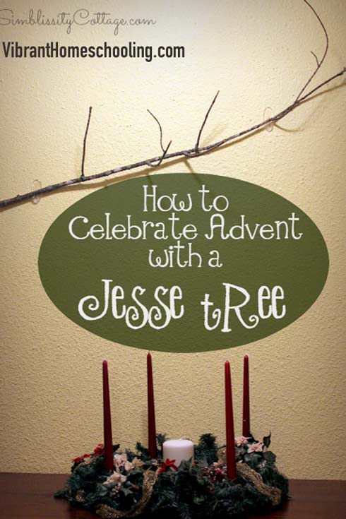 The ultimate post on the  Jesse Tree! Learn the history behind the Jesse Tree, how to make a Jesse Tree, links to free ornaments and more! Don't miss this amazing resource for this awesome Advent tradition!