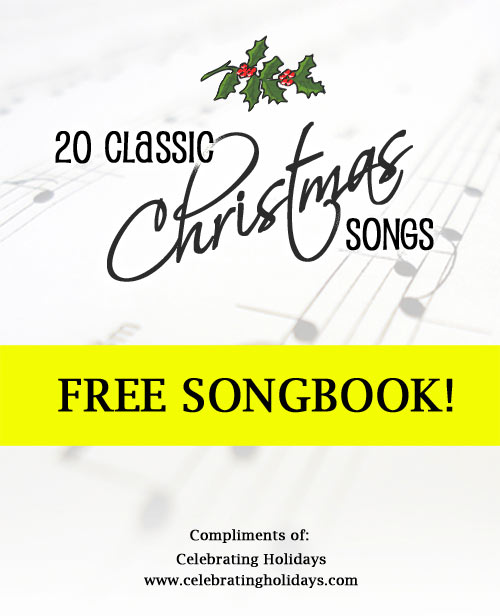 photo regarding Printable Christmas Songs identify Xmas Carols: Gadget Research and No cost Printables