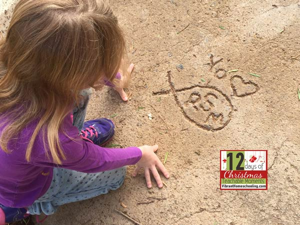 One of the greatest gifts my daughter and I received this Christmas was to step out in faith, and to discover a deeper side of friendship. Day 11: 12 Days of Christmas Teachable Moments by Vibrant Homeschooling