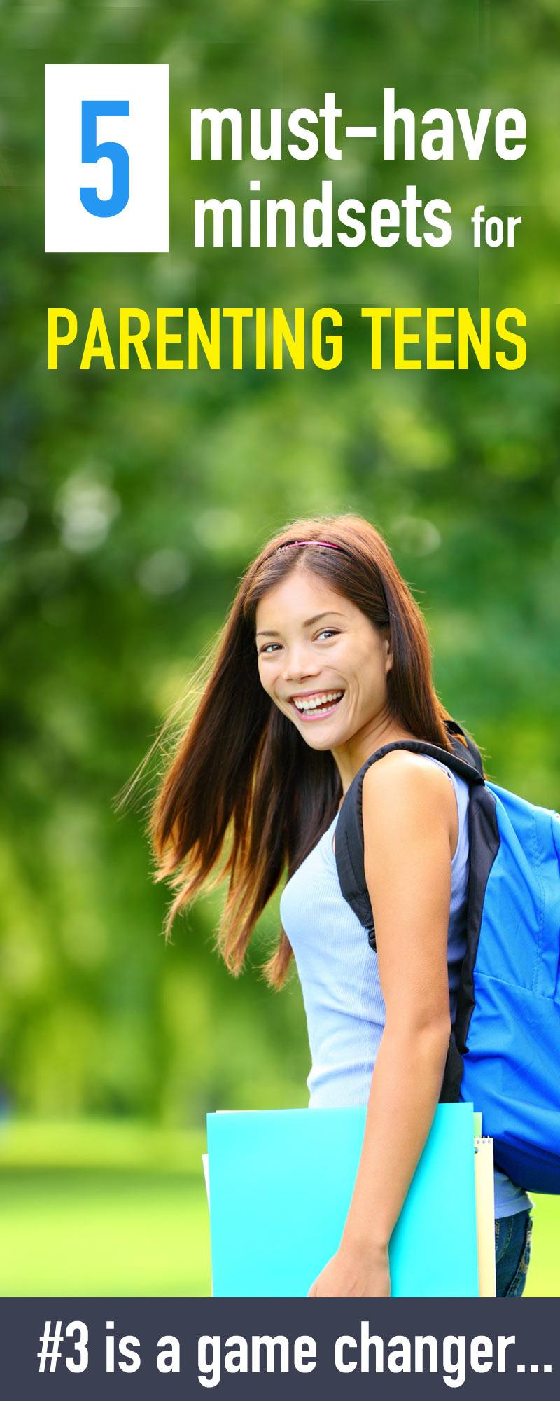 Parenting teens through the path from childhood to adulthood isn't easy! Here are the 5 parenting tips that I've learned about parenting teens.