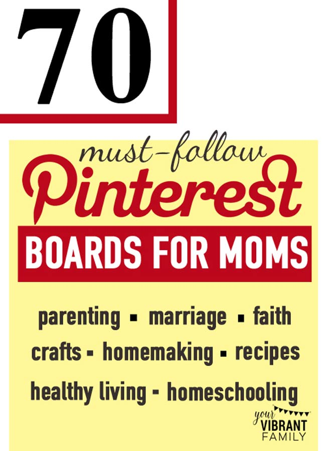 70 best pinterest boards to follow your vibrant family Home decor pinterest boards to follow