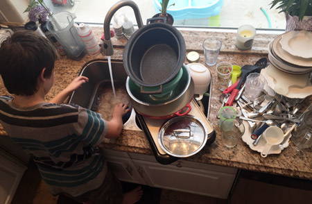 Let's get real: homeschool life is never perfect. Today, I want to encourage you by sharing some photos of our real homeschool. It's not anything fancy or forced--just a few snapshots of what life looks like inside our four walls. Vibrant Homeschooling