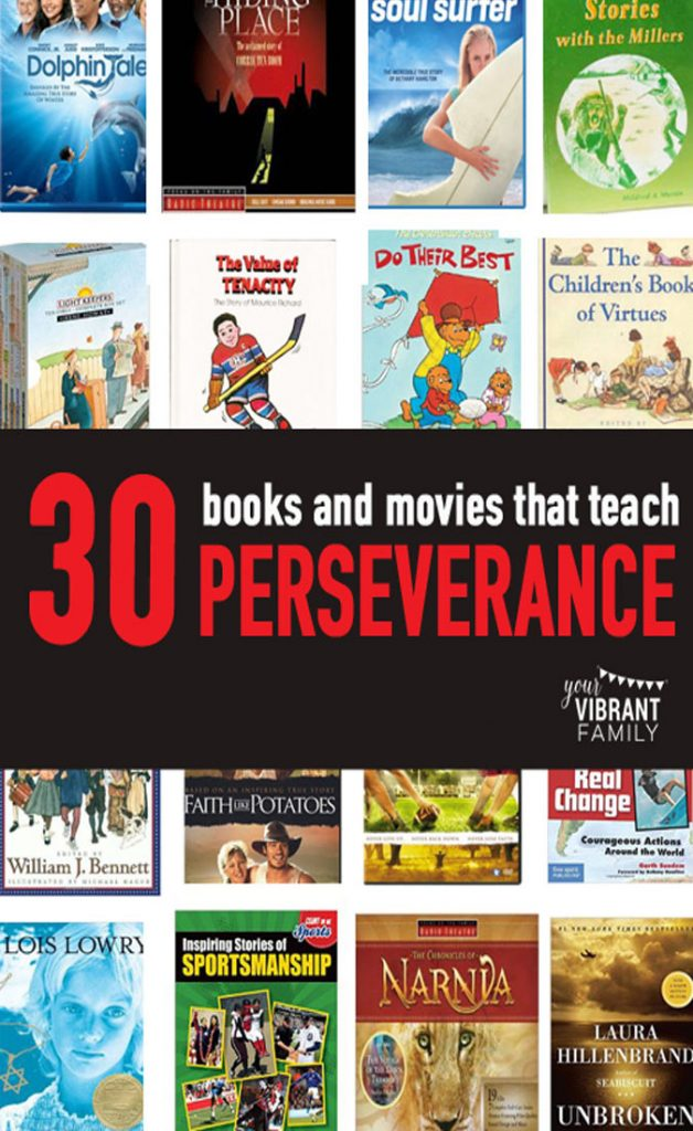 movies about perseverance | books about perseverance | audio dramas about perseverance | children's books about perseverance
