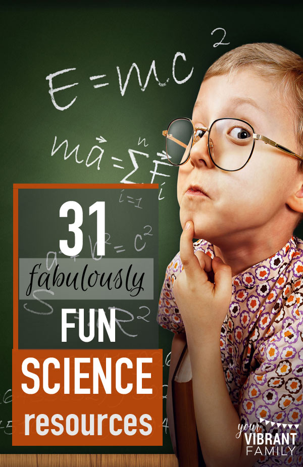 Here are fun homeschool science curriculum and resources. Are your favorites featured? Don't miss all the great ideas!