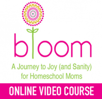 bloom Logo with Online Video Course