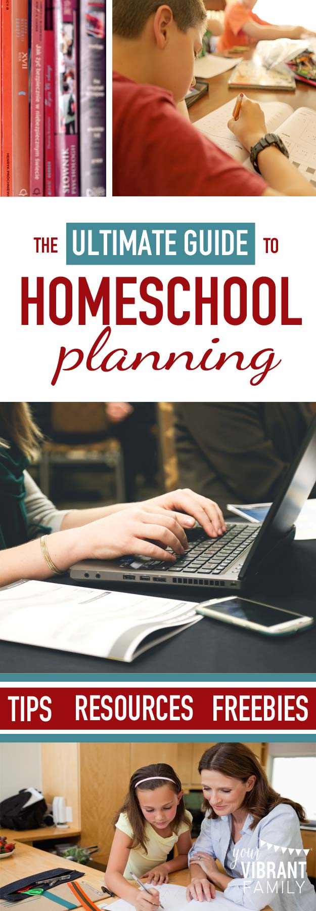 Homeschool planning can be one of the most daunting parts of teaching our kids. Discover how can an online homeschool planner like Homeschool Planet can help create a successful homeschool schedule. Plus free homeschool planners and other great homeschool planning resources!