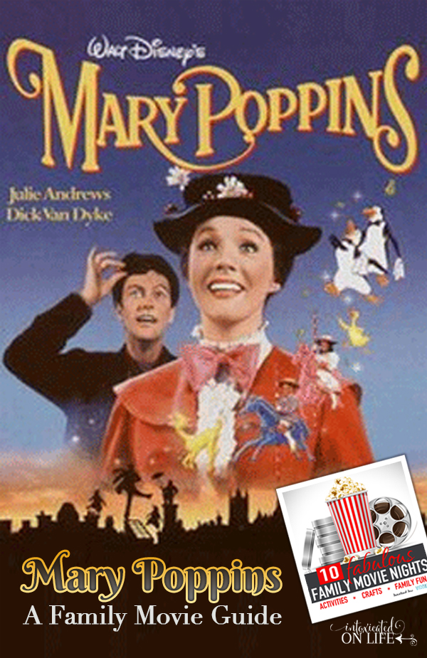 Take a jolly holiday with your family with a Mary Poppins family movie night! Complete with discussion starters, craft ideas and other fun activities!