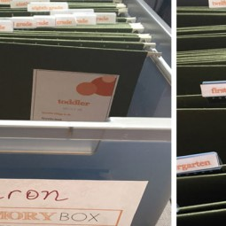 Oh my gosh... YES! Finally a great way to organize kids school papers once and for all-- from their toddler years through twelfth grade! What a great keepsake to pass on to your kids too! You'll be doing a happy dance after reading this!