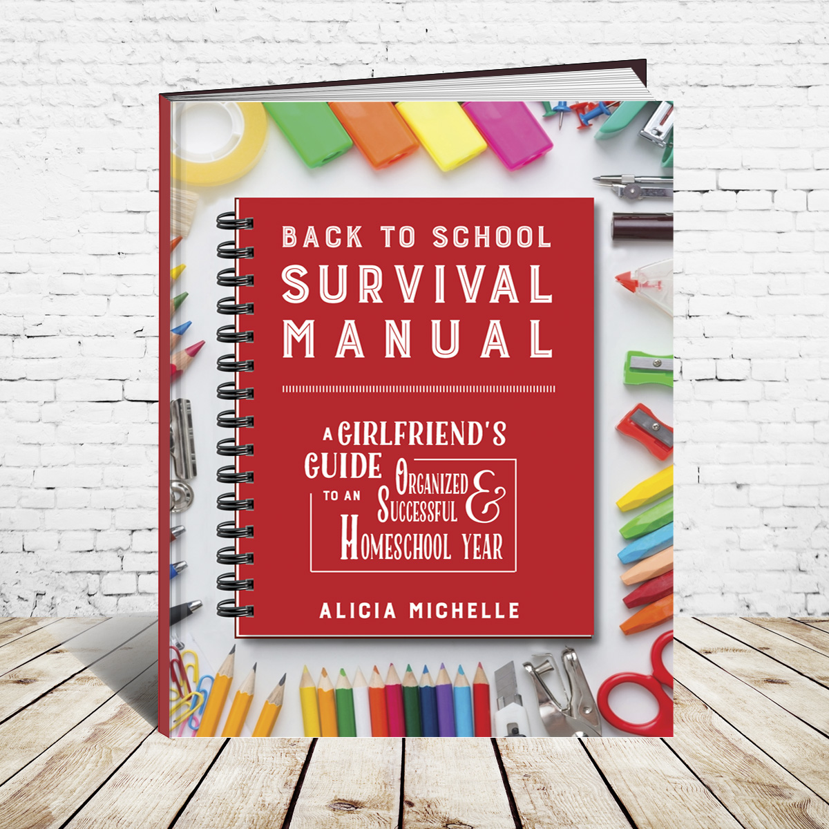 No matter if it's your first or your fourteenth year as a homeschooler, preparing for a new school year can be daunting and overwhelming. What do you do first? Where do you start? That's why the Back to School Survival Manual: A Girlfriend's Guide to an Organized & Successful Homeschool Year is such an amazing resource. Full of expert advice from a ten-year homeschool veteran, this casual, conversational book is like chatting with a girlfriend about how to: build self-confidence in your homeschool's purpose and vision determine what supplies you have (and what you really need); learn practical tips for managing daily homeschool chaos and clutter; discover how to create a realistic learning rhythm; and get powerful tips for daily homeschool success. The book also contains 30 pages of reproducible 8.5 x 11-inch checklists, charts and planning activities to use year-after-year!