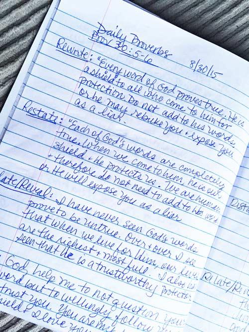 Children Bible Study Method Printable