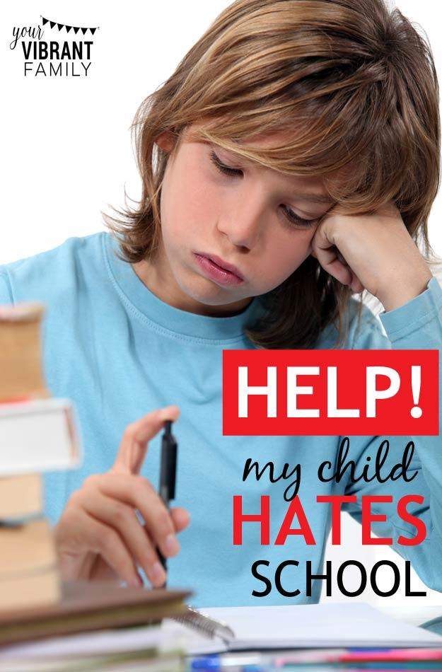 child hates essays