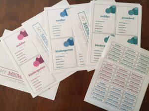 keep school papers organized   kids school papers   school papers keep
