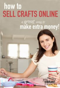 Ever thought about selling crafts online? People are successfully doing it everyday (why not you?)! Here's REAL advice and tips from an online marketer (and mom)!