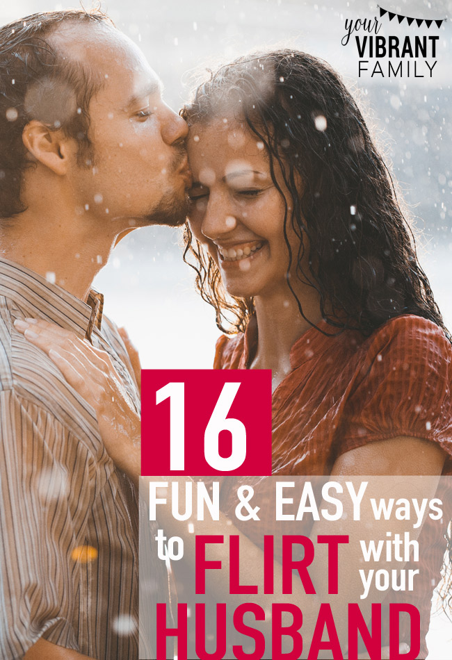 You'll love these 18 fun and EASY ways to bring the fun and flirting back to your marriage! SO MANY great resources and ideas here!
