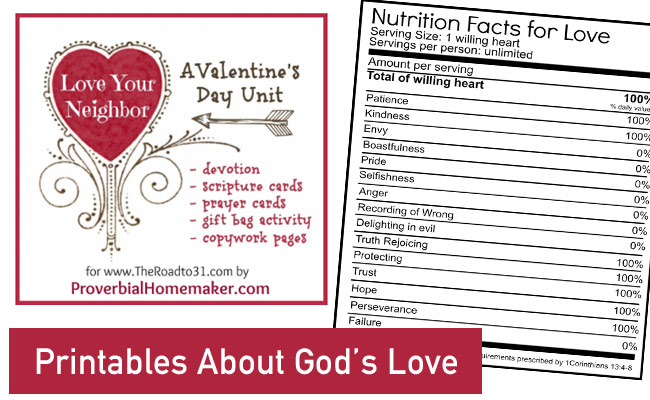 Printables-About-God's-Love