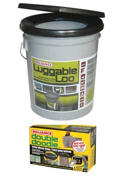 portable toilet for a disaster preparedness kit