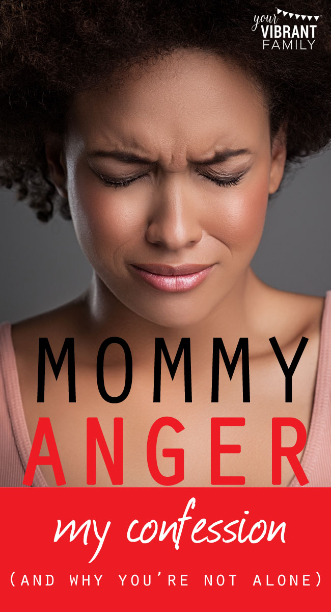I've heard this over and over from moms everywhere: I never knew I had anger issues until I had children. You understand, right? We're not abusive or violent. But darn it, those kids can trigger anger in us like no one else.