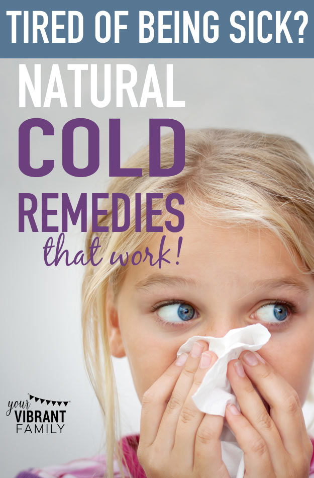Stuck with a cold? You've GOT to try these! Here are 10 POWERFUL and natural ways to fight a cold! Great knowledge to store away for the next time your family is sick!