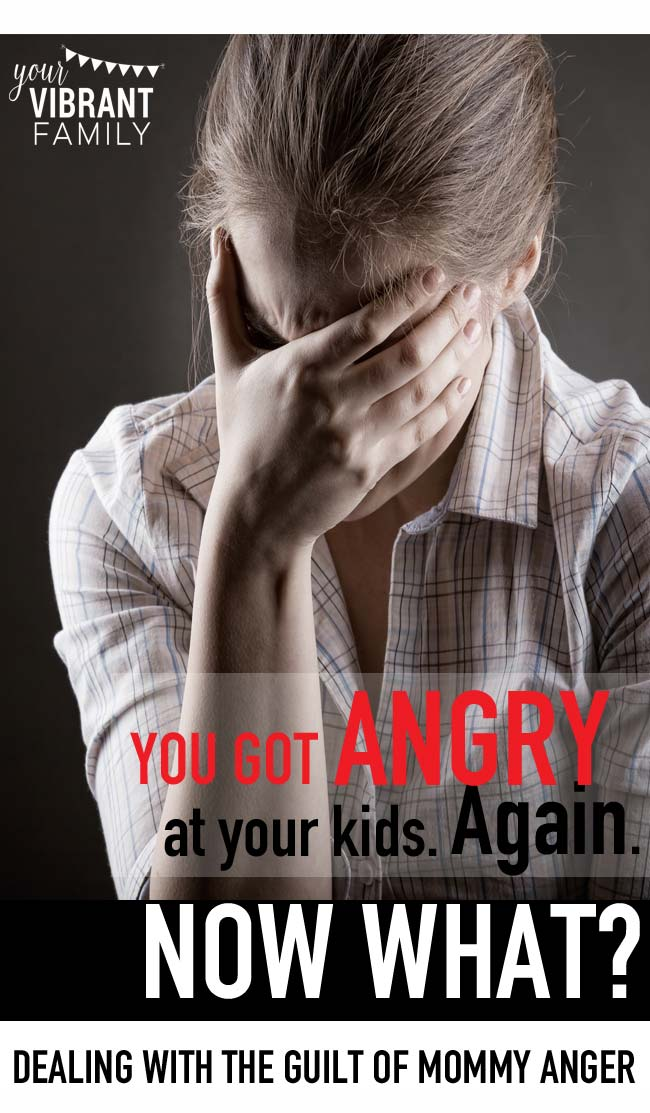 You got angry at your kids. Again. You didn't mean to speak so harshly, but the words fell out of your mouth in an angry blaze and there seemed to be no stopping them. It's happened before. Too many times to count. And the longer the cycle continues, the more out of control you feel, right? I can completely relate! Let me show youa beautiful new perspective and plan for dealing with anger's aftermath. Go here to get started!