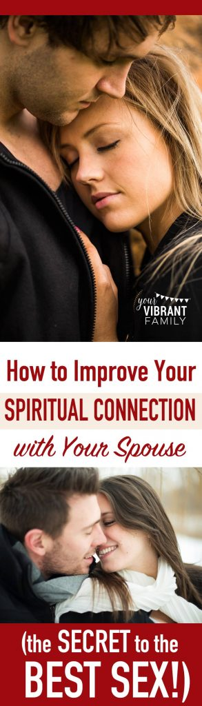 How can growing closer spiritually transform your sex life? This post will help you discover why the secret to the great sex life we all desire starts with maintaining a spiritual bond founded in Christ. You'll love this list of 13 powerful resources that can help you and your spouse be spiritually closer than ever before!