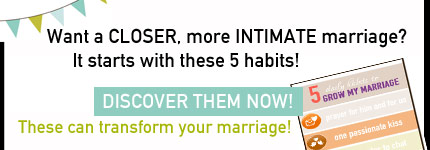 5 habits grow marriage