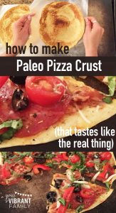 Are you tired of gluten free or grain-free pizza crusts that don't taste like real pizza? You've got to try this recipe! You want flexible crusts that you can pick up with your hands? You got it. How about a crust that is chewy yet crunchy--one that actually reminds you that yes, you're eating pizza? It's all right here! Discover the top secret techniques to making it (including a video) here!