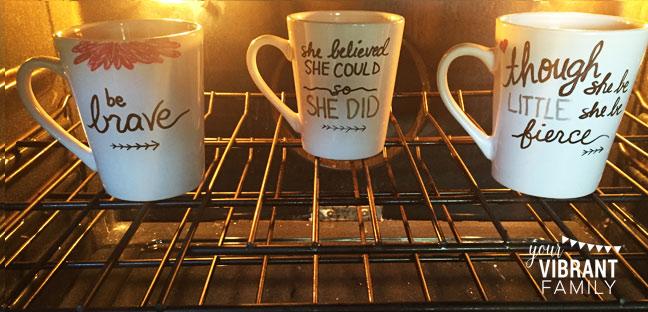how to make sharpie mugs