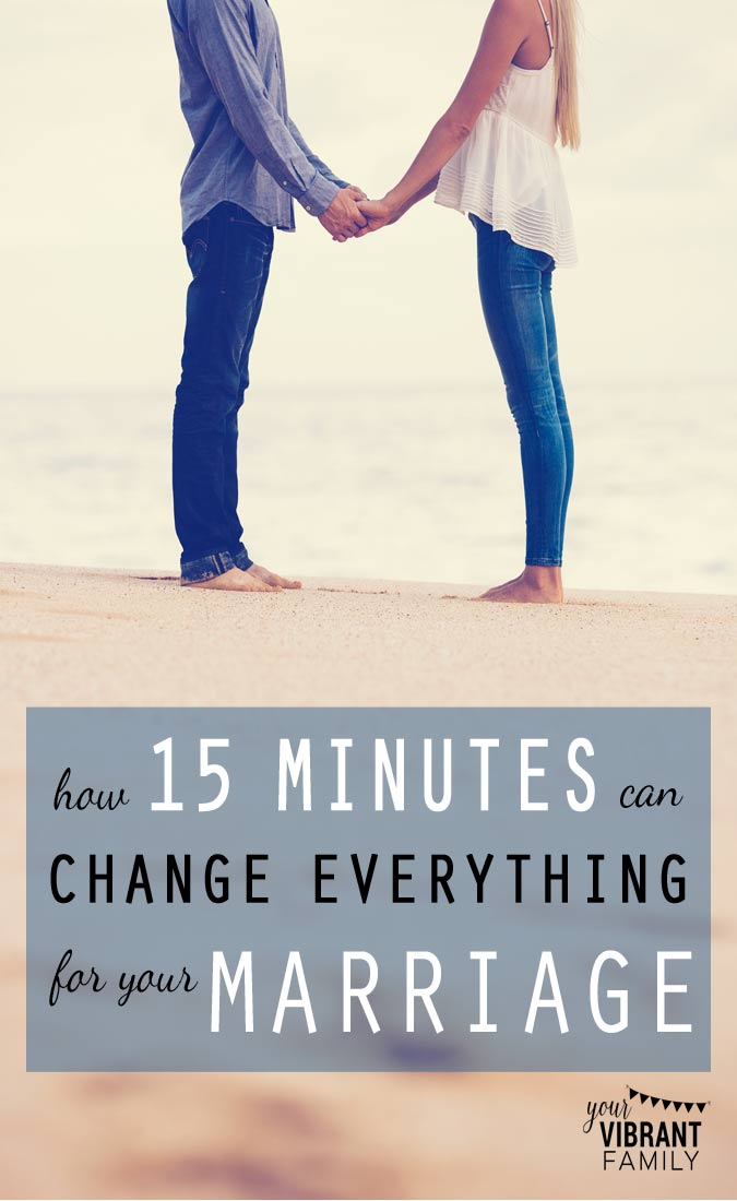 This one intentional habit has kept our marriage thriving even in the busiest seasons. It's a simple change that will bring the closeness--and real, heartfelt connection--that you're craving from your spouse. If you're married, don't miss this!