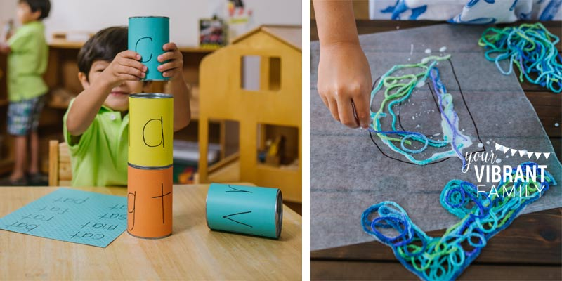 Want simple, fun ways to keep kids learning this summer? Your kids will love these—and you'll love how these activities use everyday household supplies! These ideas are perfect for busy moms!