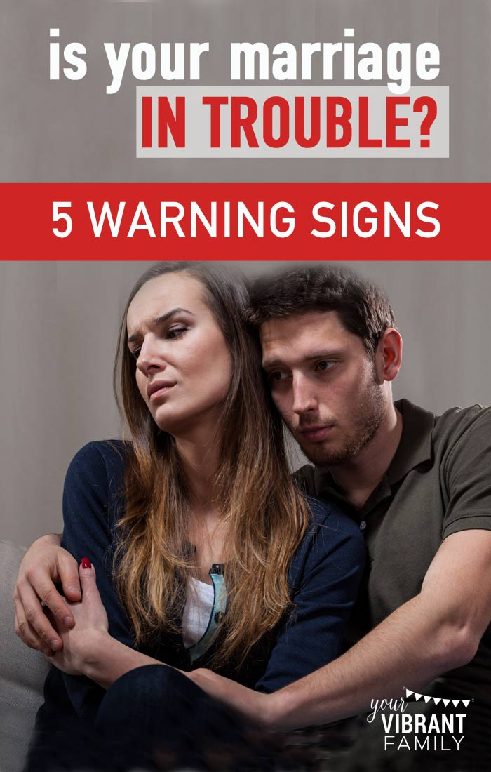 A Marriage Troubled 9 Signs Warning Of