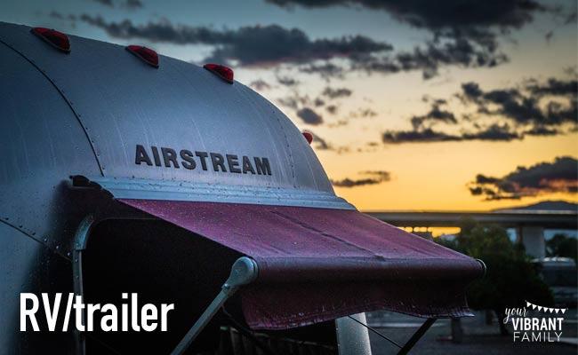 remove bad odors rv trailer