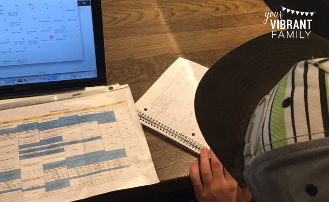 how to teach kids to manage their own schedule