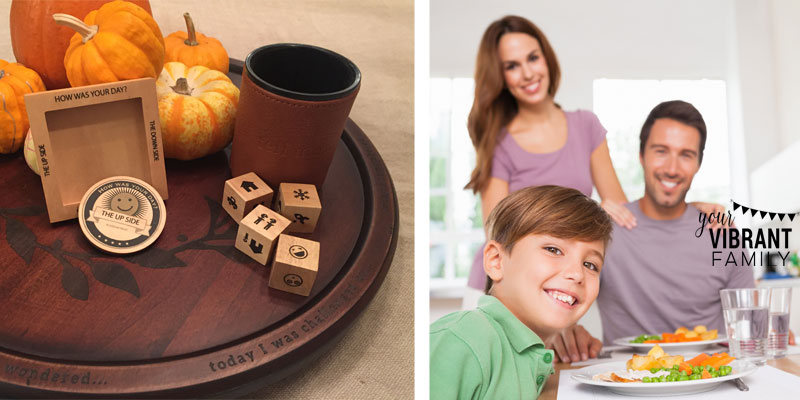 CONNECT WITH YOUR FAMILY at dinnertime! Love these fun tips and adorable tools that make it easy and fun to encourage family conversations around the dinner table. GREAT ideas here!