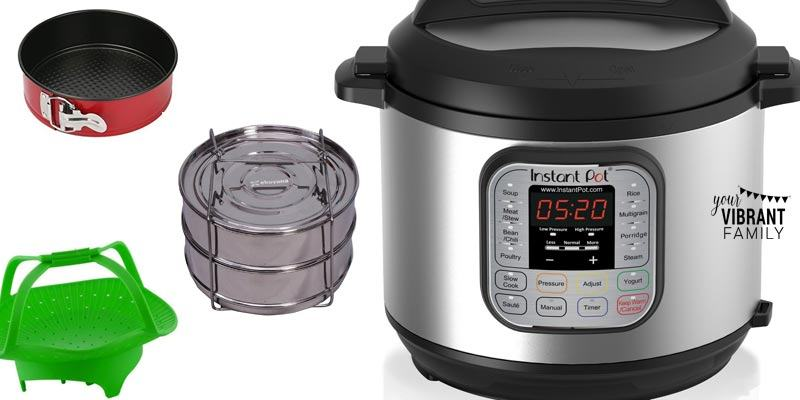 With these amazing Instant Pot accessories you can cook even more amazing meals, including desserts, multi-course meals, vegetable dishes and more! Learn what pressure cooker accessories you really need and how to save more time in the kitchen!