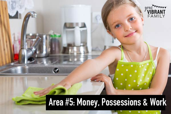kids teens money possessions hard work spiritual attack kids prayer