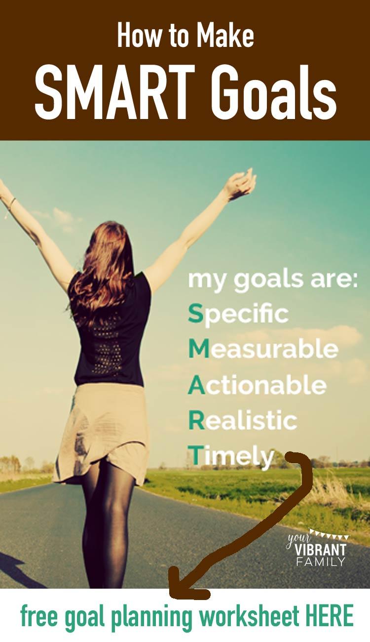 smart goals worksheet pdf