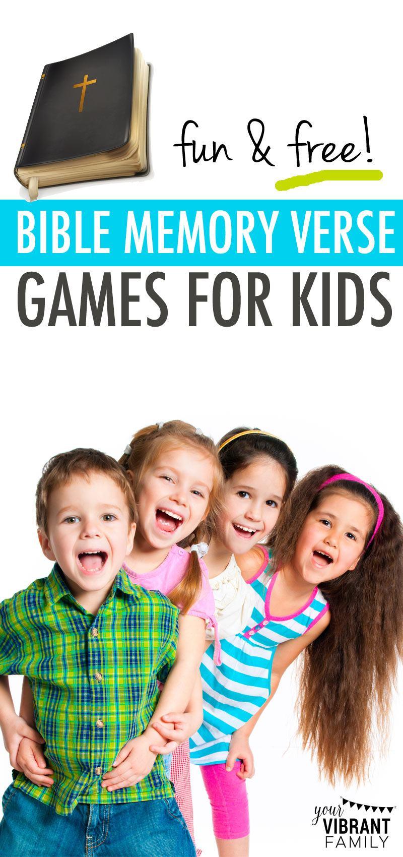 21 fun u0026 free bible memory verse games bible memory music u0026 art