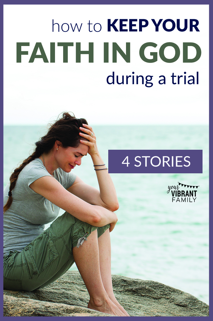 Keeping faith in God during hard times can be extremely difficult. Here are four inspiring stories about finding faith and joy during trials—everything from job loss and unemployment to parenting issues and life-threatening illnesses. Plus discover how you can find joy in trials too with a free joy Bible study sample. #faithintrials #faithintrialsquotes #trialsquotes #trialsandtribulationsquotes # hardtimesquotes #hardtimesgettingthrough #joythroughtrials #joythroughsorrow via @UrVibrantFamily